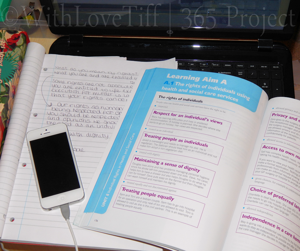 Study Time | Day 4 | 365 Project
