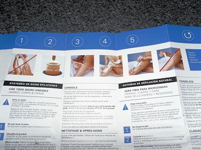 nads natural warm wax heating instructions