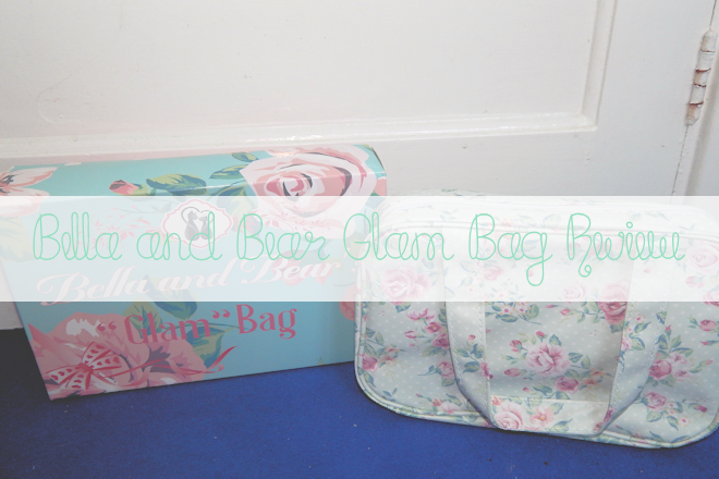 Bella and Bear 'Glam' Bag Review | WithLoveTiff♥