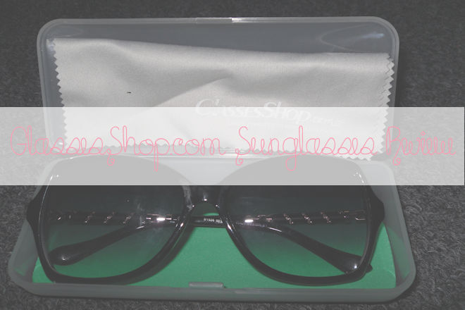 GlassesShop.com Sunglasses Review | WithLoveTiff♥