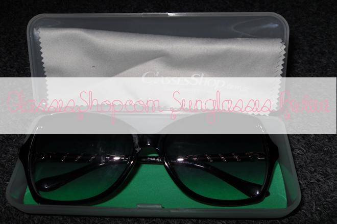 GlassesShop.com Sunglasses Review | WithLoveTiff♥