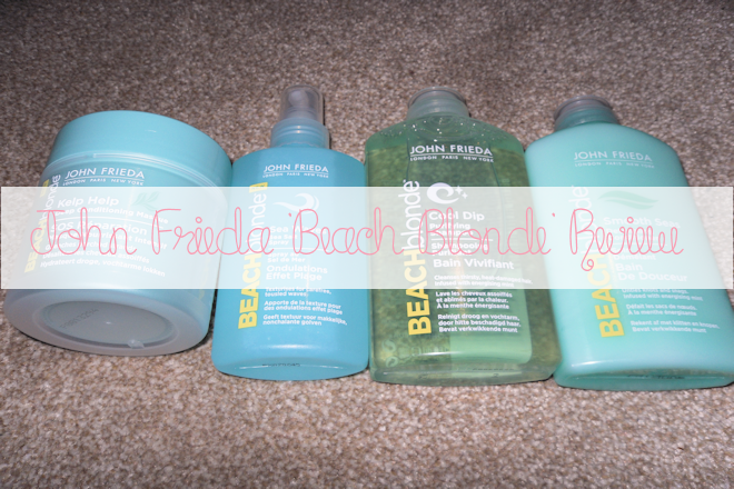 John Freida Beach Blonde Review – WithLoveTiff♥