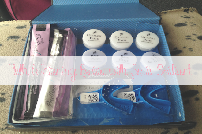 Smile Brilliant Teeth Whitening Trays Review | WithLoveTiff♥