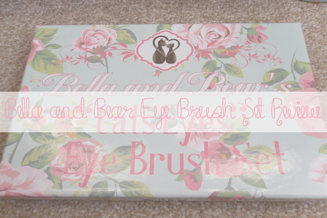 Bella and Bear 5pcs Eye Brush Set | WithLoveTiff♥