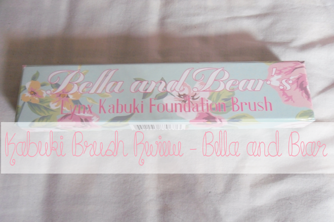 Kabuki Brush Review Bella and Bear | WithLoveTiff♥