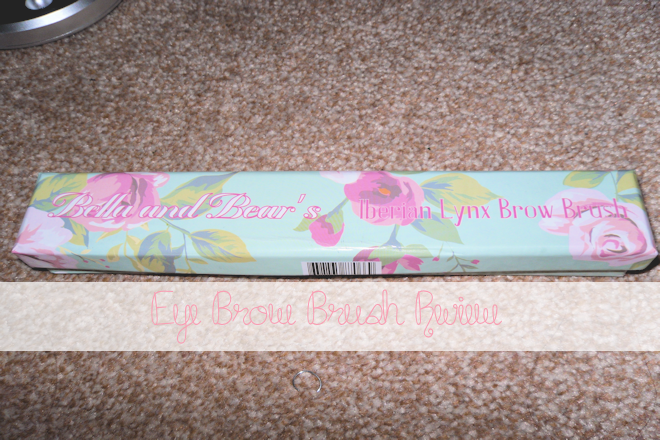 Bella and Bear Eye Brow Brush Review | WithLoveTiff♥