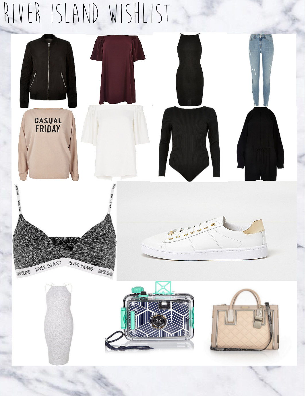 River Island Wish Lists