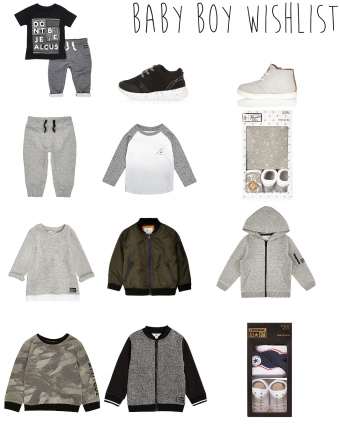 baby boy wishlist